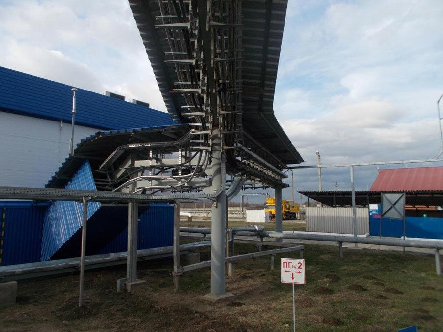 Техническое обследование и оценка технического состояния кабельных эстакад АО«Черномортранснефть»
