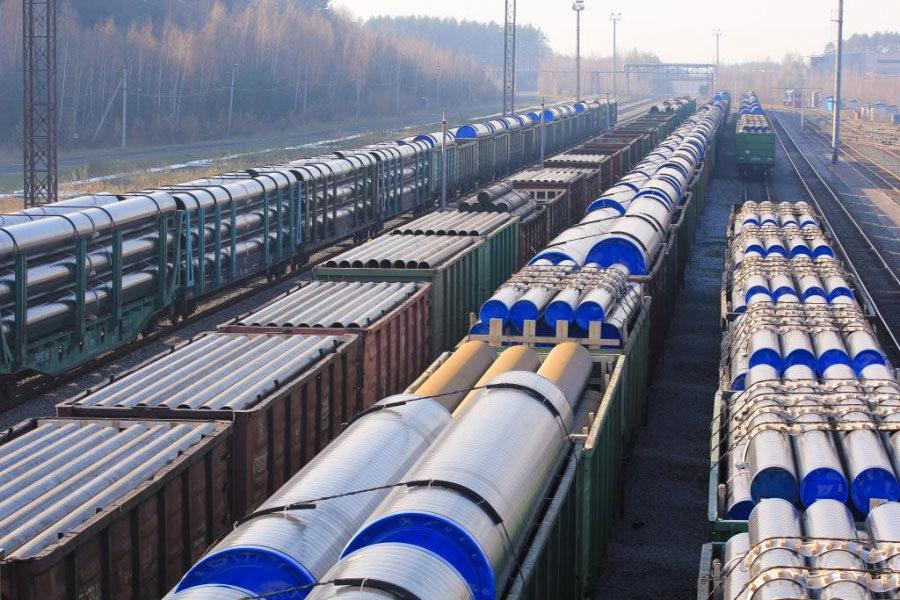 Геодезическая съемка железнодорожного пути ЖДЦ АО «ВМЗ»