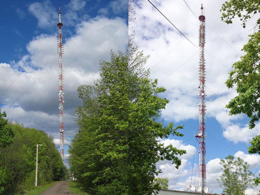 обследование антенно мачтовых сооружений ФГУП-РТРС-4