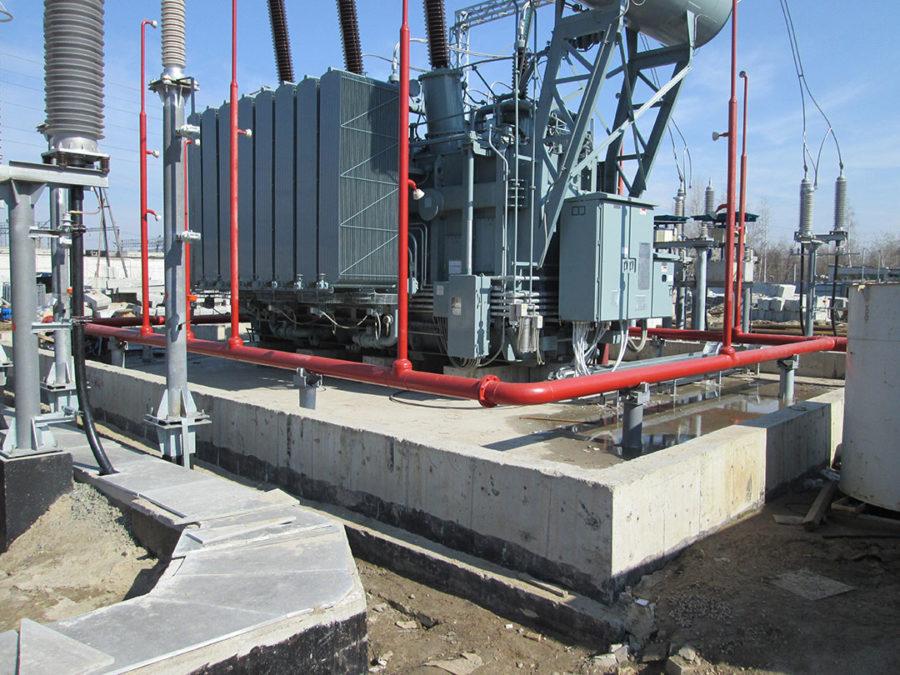 Обследование технического состояния вновь смонтированных конструкций ПС220кВ «Заречная» филиала ПАО«ФСК ЕЭС» – МЭСВолги