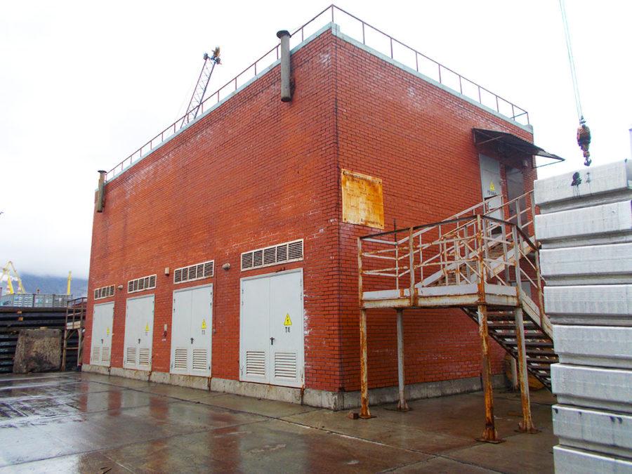 Техническое обследование строительных конструкций зданий трансформаторных подстанций Новороссийского и Архангельского морских торговых портов