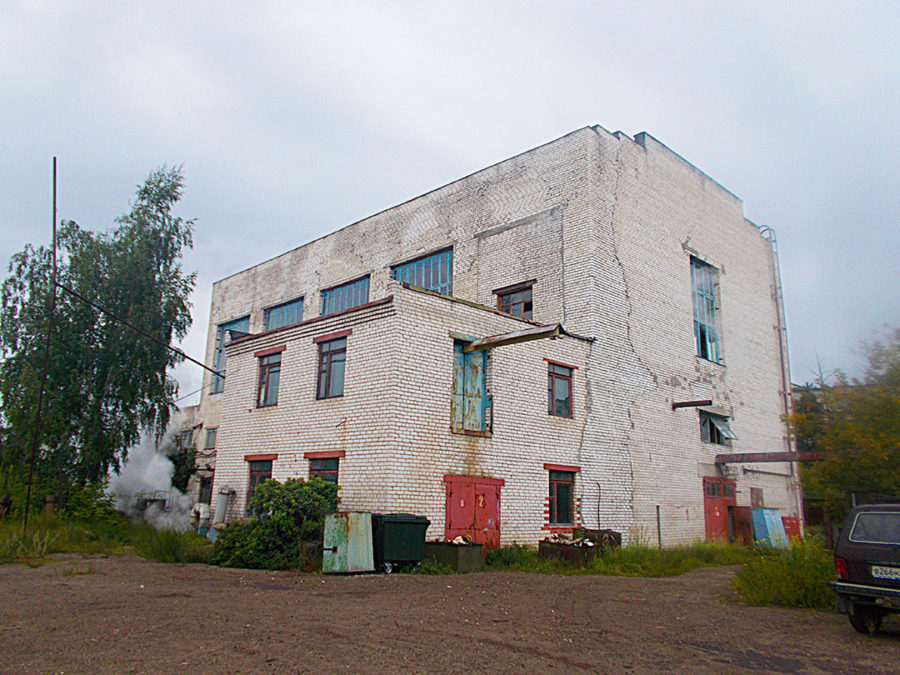 Комплексное обследование зданий и сооружений с проведением экспертизы промышленной безопасности для нужд ЭК Нижегородской ГРЭС АО «Волга»