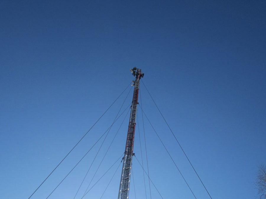 обследование антенно мачтовых сооружений ПИП