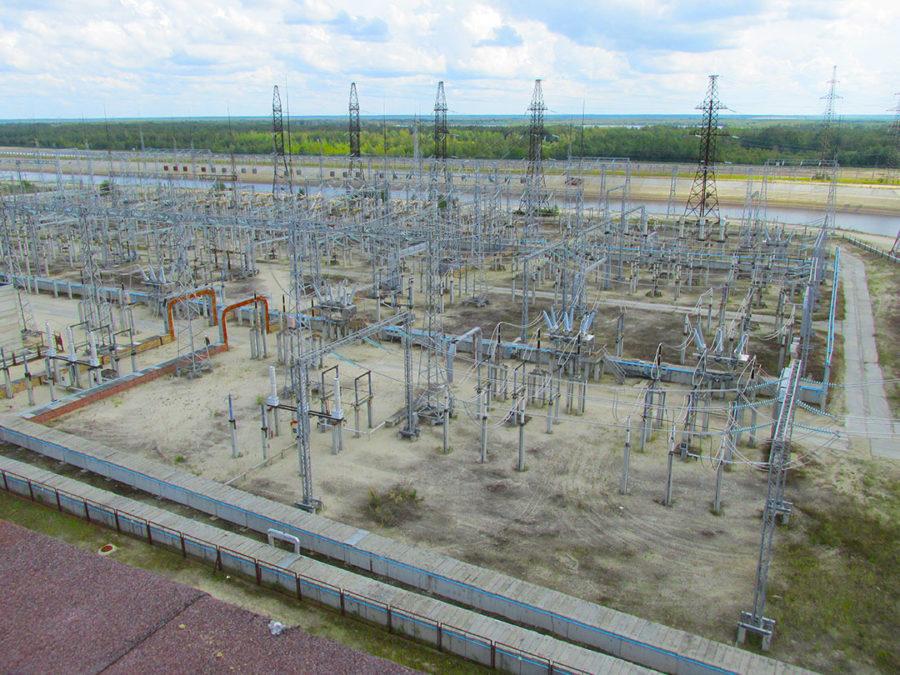 Техническое освидетельствование строительных конструкций ОРУ 220 кВ