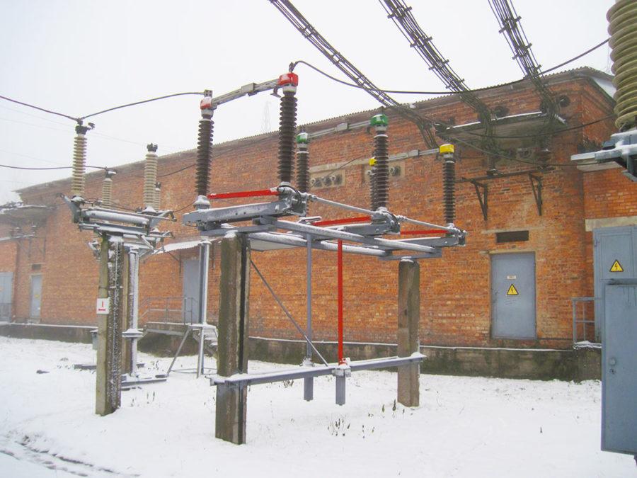обследование линий электропередач
